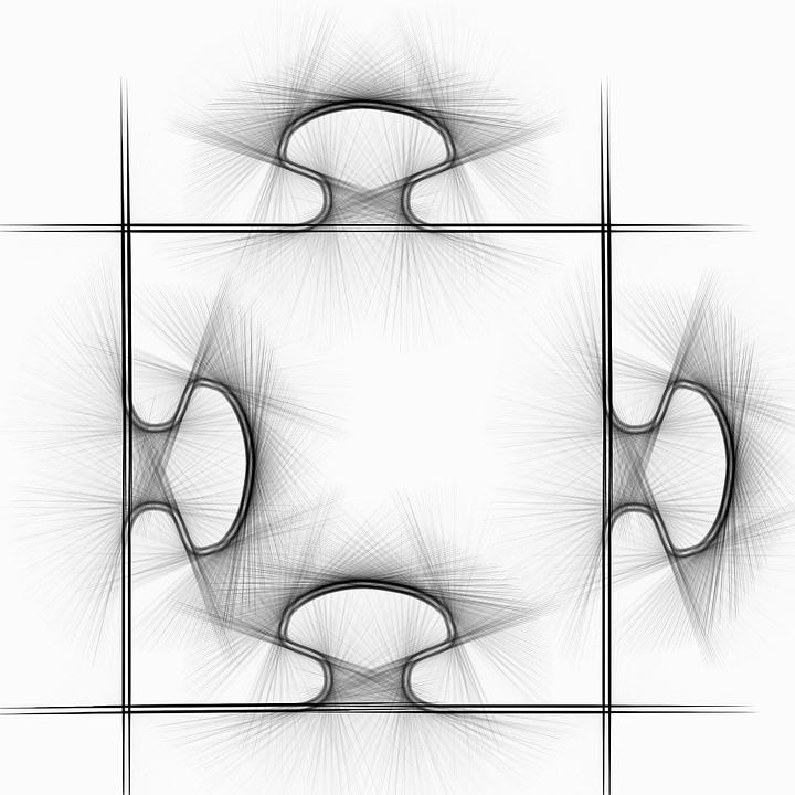 Puzzle piece dessin image gratuite sur pixabay - Puzzle dessin ...
