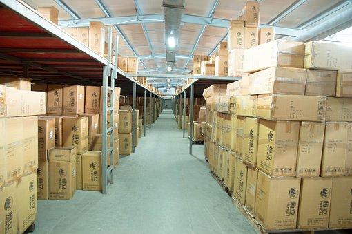 Factory, Warehouse, Box, Warehouse