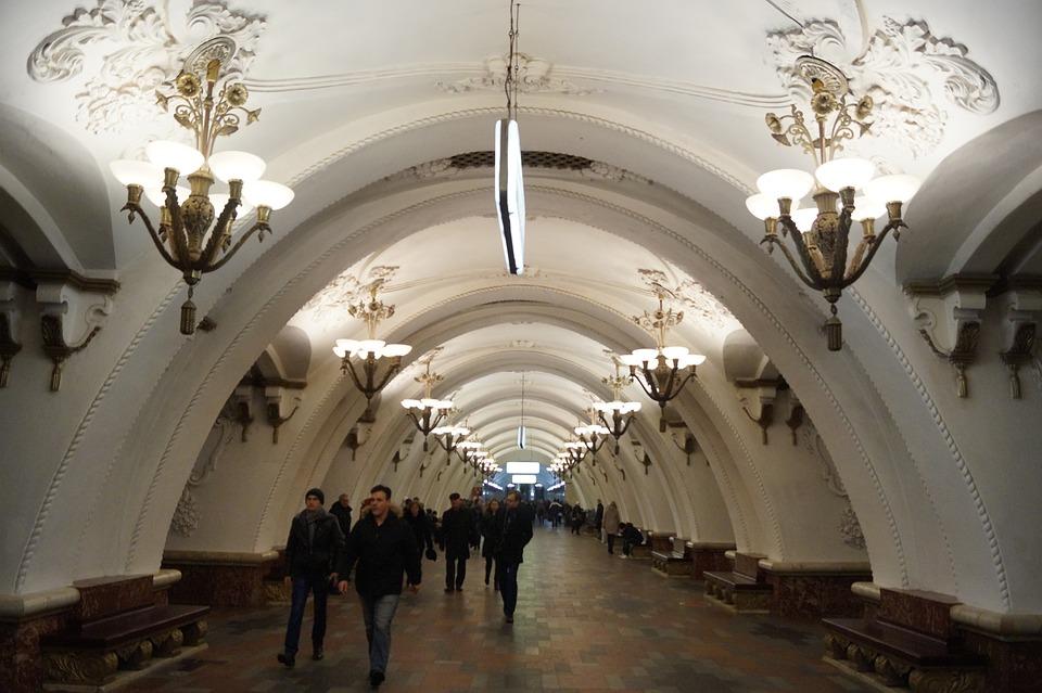 Russland, Moskau, Moskauer U-Bahn