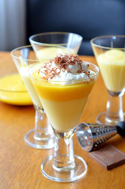 free photo pudding dessert vanilla pudding free image