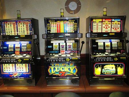 Slot Machines, Gambling, Casino, Jackpot