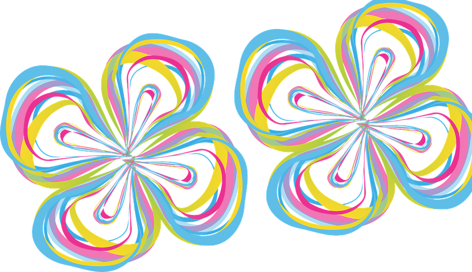 Bunga Abstrak Warna Gambar Vektor Gratis Di Pixabay