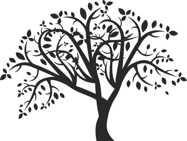 Tree Family Nature 183 Free Vector Graphic On Pixabay