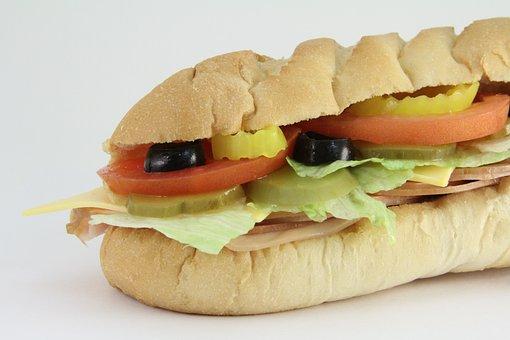 Submarine Sandwich, Sub, Subway