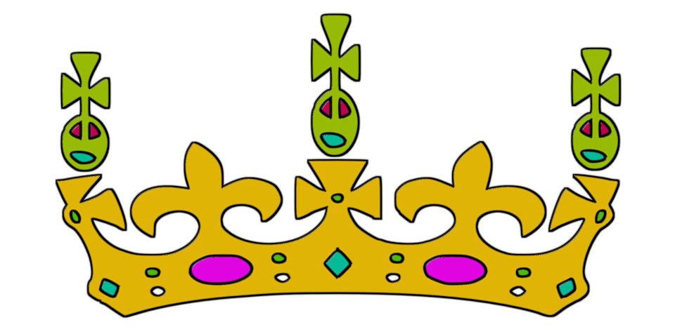 illustration gratuite couronne  couronne roi  king  or clip art emotions and feelings clipart emoticons