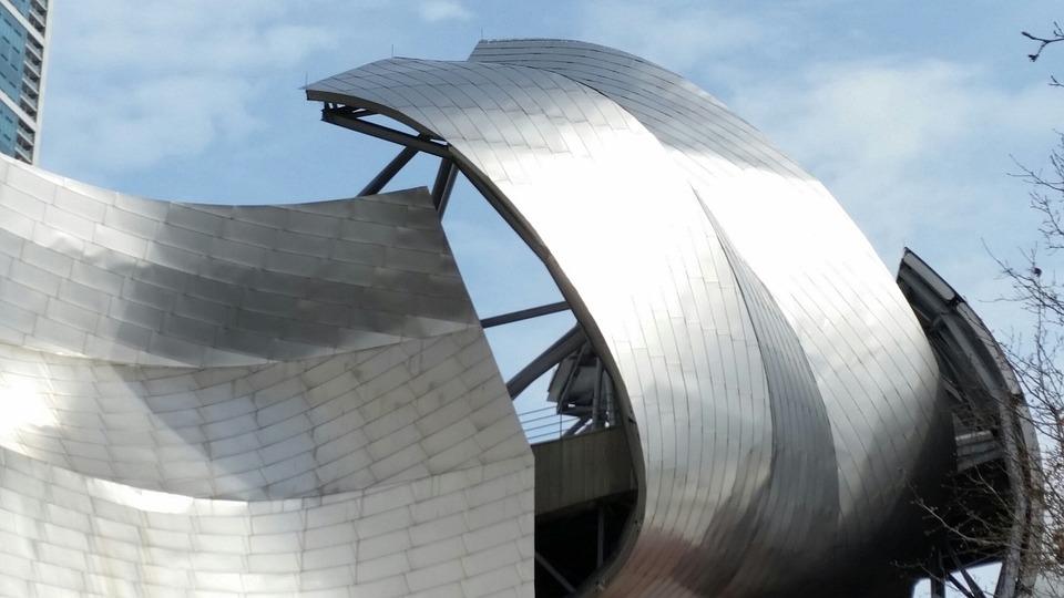 무료 사진: 현대, 건축물, 시카고, 금속, 디자인, 곡선 - Pixabay의 ...