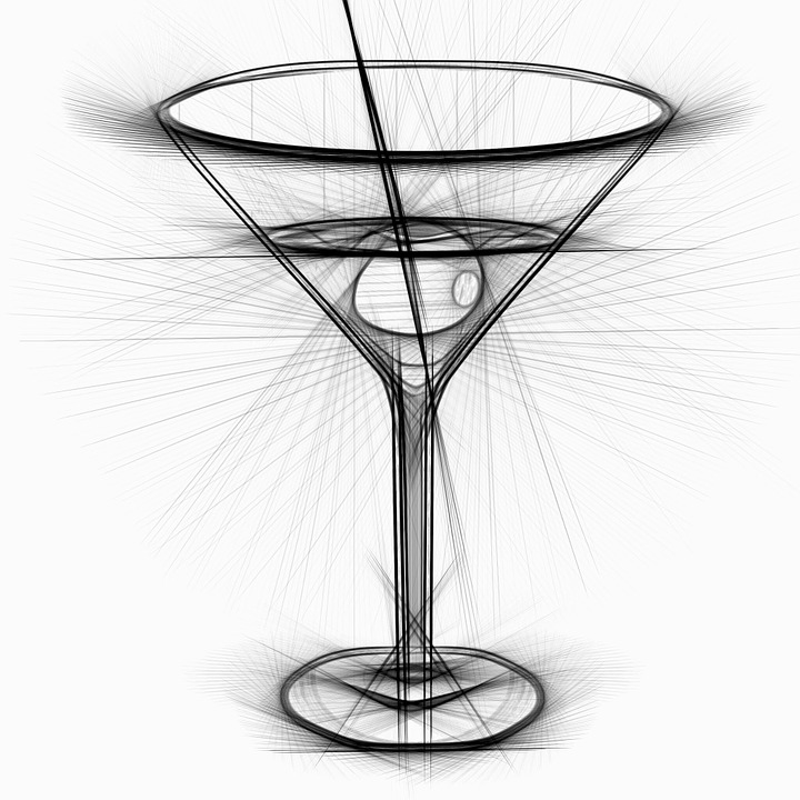Illustration gratuite cocktail boire bar dessin - Dessin cocktail ...