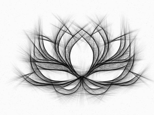 Illustration Gratuite: Nénuphar, Dessin, Crayon, Fleur
