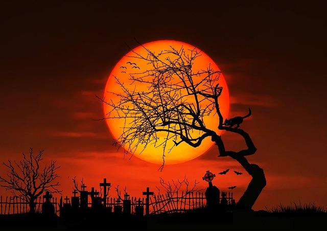 halloween scene clipart - photo #22