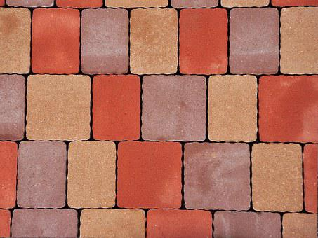 Pavers Color Cube Driveway Walkway Street