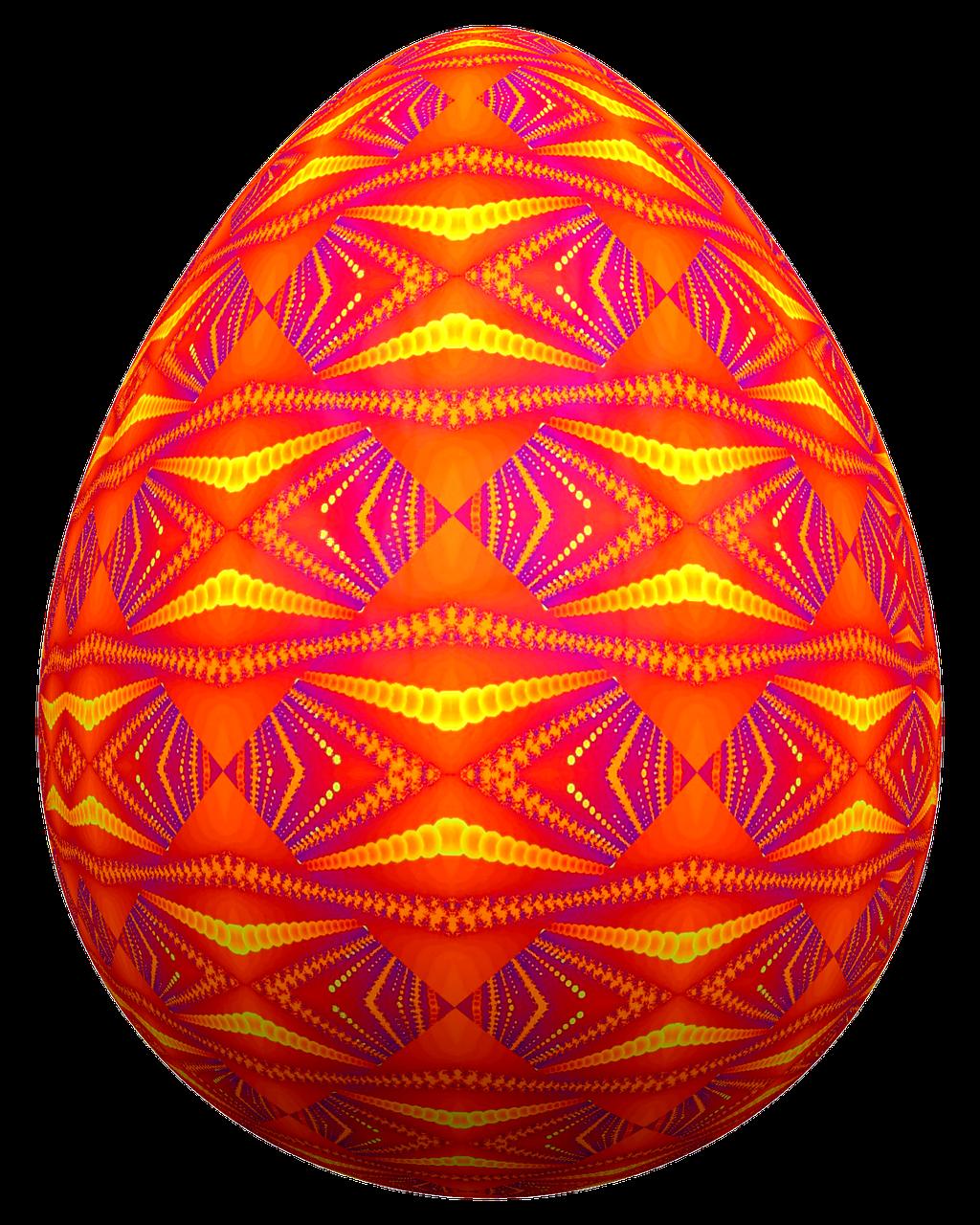 Картинки на пасхальное яйцо, купола гифы
