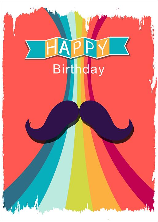 Karte Geburtstag Mann.Mann Geburtstag Bart Kostenloses Bild Auf Pixabay