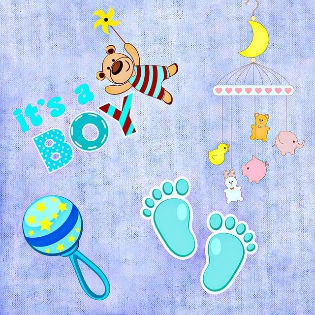 Baby Birth Boy Greeting 183 Free Image On Pixabay