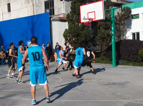 Basketball Game, Sun, Hard Work