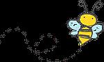 bee, cartoon, bumble