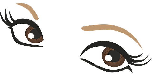 Free Vector Graphic: Eyes, Brown, Drawing, Pupil