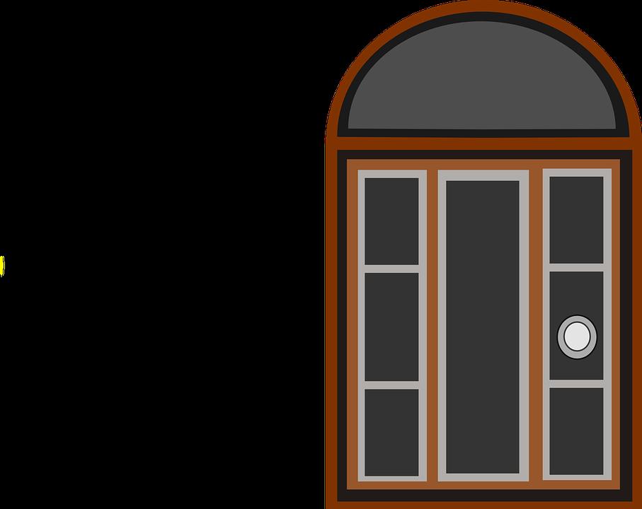 Dog House With Door