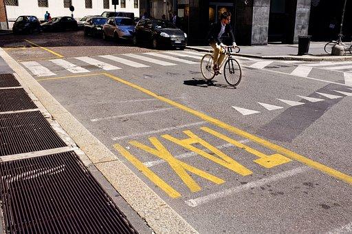 Linea Taxi, Il Markup, Strada, Bici