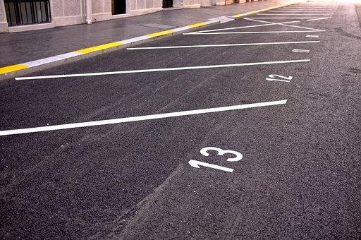 Parkplatz, Parkplatz-Linie, Das Markup