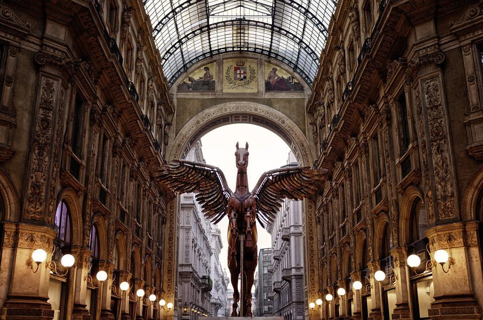 Milan, Pegasus money in italy culture on italy best places to visit in italy italy 2020