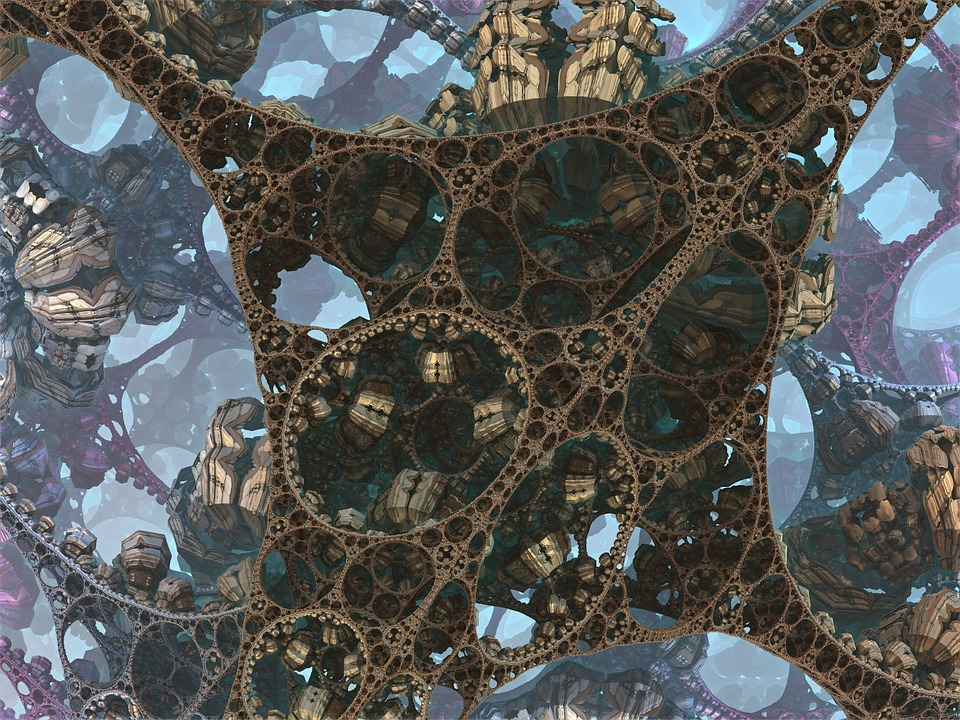 Structure Metal Fractal 183 Free Image On Pixabay