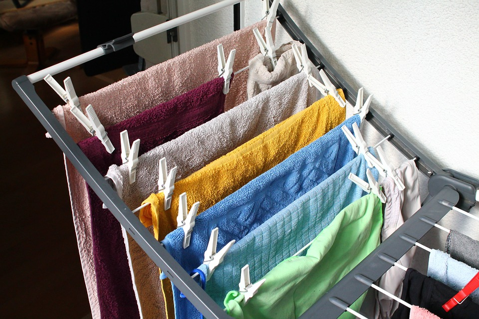 洗濯, 乾燥, 物干しラック, 予算, 洗濯物を干し, 洗濯はさみ, 洗浄
