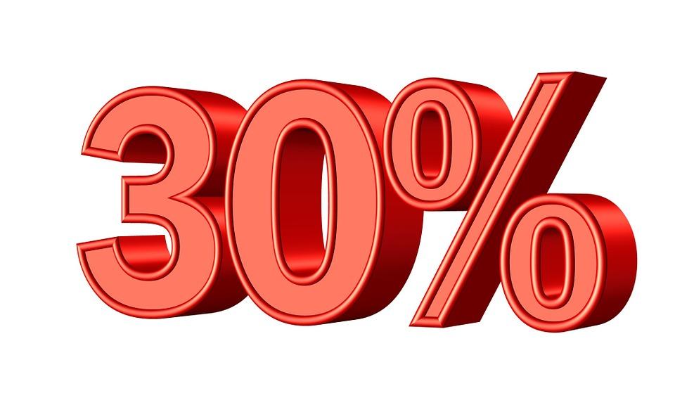 Thirty 30 Percent · Free image on Pixabay on