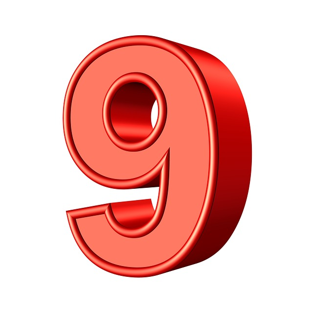 nine 9 number  u00b7 free image on pixabay