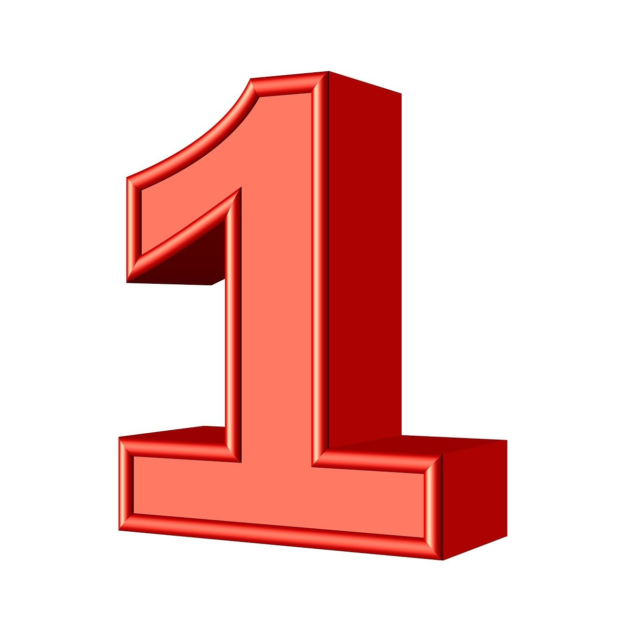 One 1 Number - Free image on Pixabay