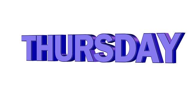Thursday Day Week 183 Free Image On Pixabay