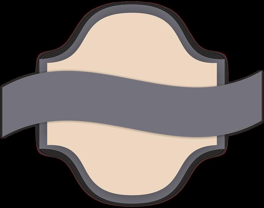 Label Lambang Logo Gambar Gratis Pixabay Retro Tooltip Kosong