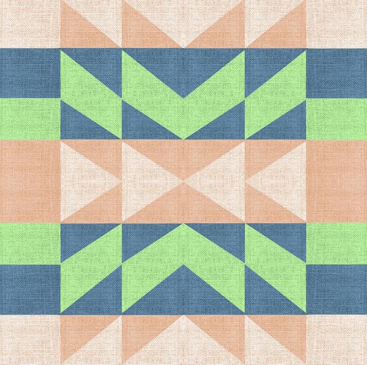 Fabric Texture Design Geometric Material Cloth