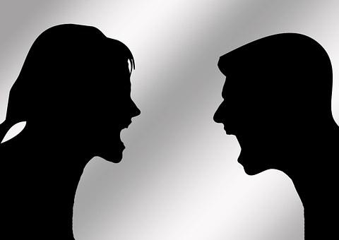 Pasangan, Pria, Wanita, Diskusi