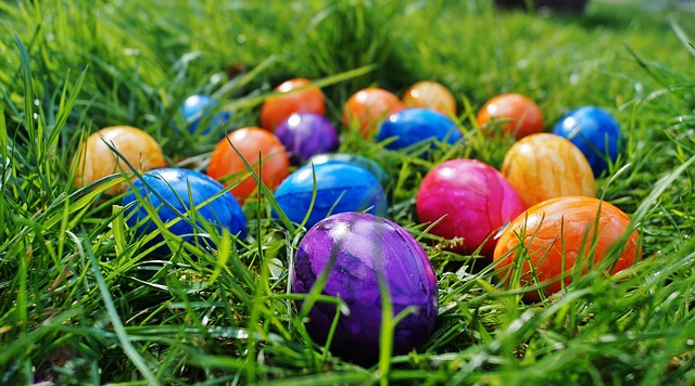 Free Photo: Easter, Eggs, Color Eggs, Spring