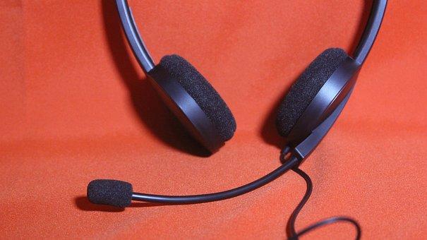 Headset, Microphone, Headset, Headset