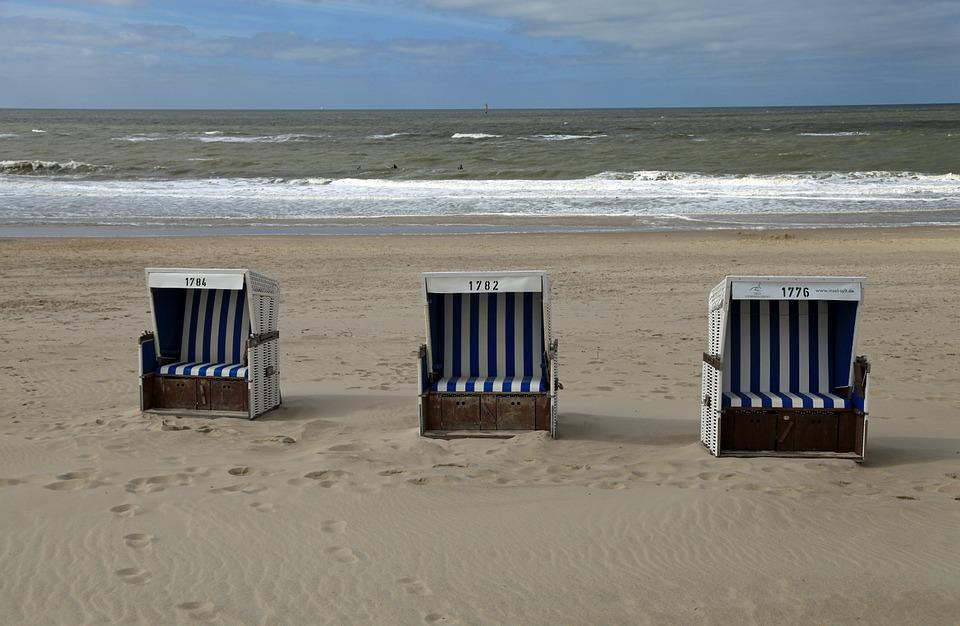 strandkorb am meer. Black Bedroom Furniture Sets. Home Design Ideas