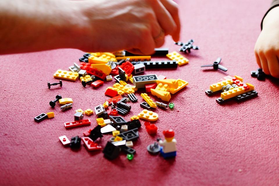 Lego, Costruire, Blocchetti Di Costruzione, Giocattoli