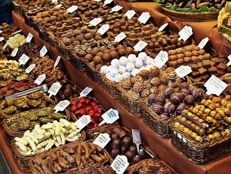 Čokoláda, Sladký, Cukrárna, Jídlo