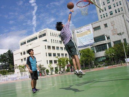 Basketball, Sport, Sky