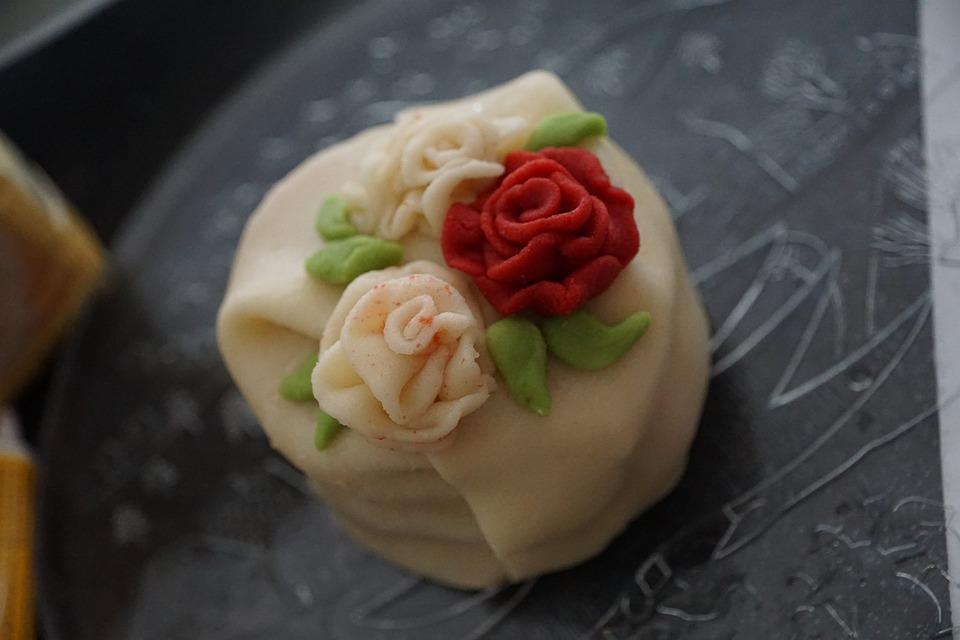 Torte Marzipan Rose Kostenloses Foto Auf Pixabay