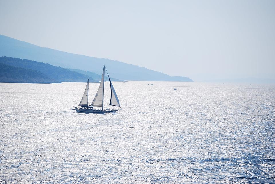 Foto gratis: Mar, Navegar, Barco, Paisaje, Calma - Imagen