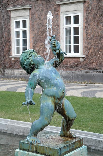 Free Photo Sculpture, Boy, Nude, Water - Free Image On -6531