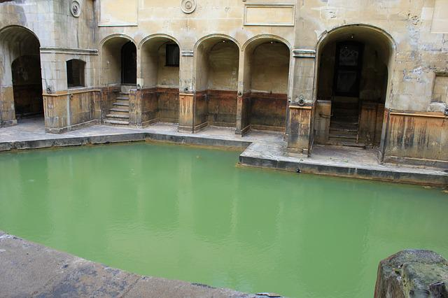 Free Photo Bath Roman Bath Hot Spring Roman Free