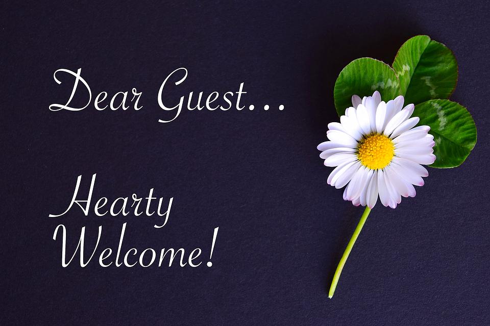 大使館, 地図, ようこそ, ゲスト, ガチョウ花, 4 つ葉のクローバー
