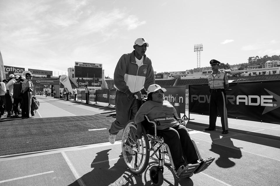 Wheelchair, Athlete, Disabled, Handicapped, Disability