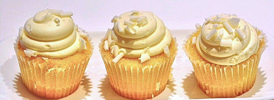 柠檬蛋糕, 椰子, 甜的食物, 甜点