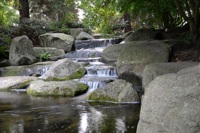 Gratis foto water japanse tuin reflectie gratis for Cascadas jardin zen