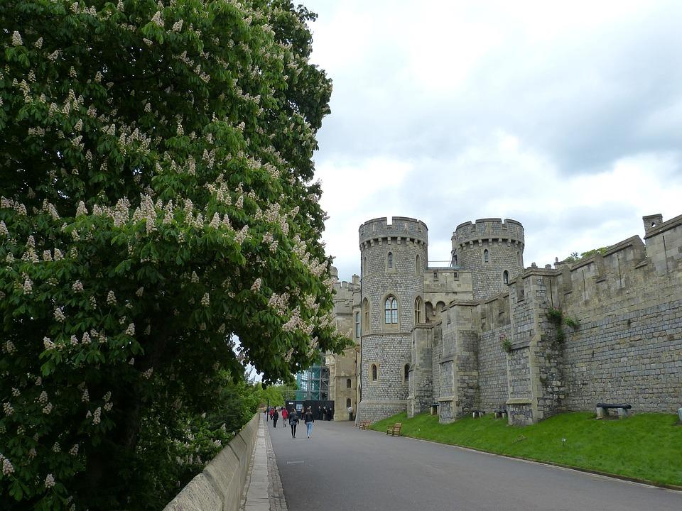 Виндзор, Лондон, Англия, Замок, Виндзорский Замок