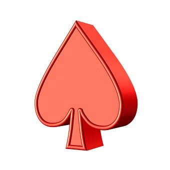 Spade, Cards, Game, Poker, Gambling