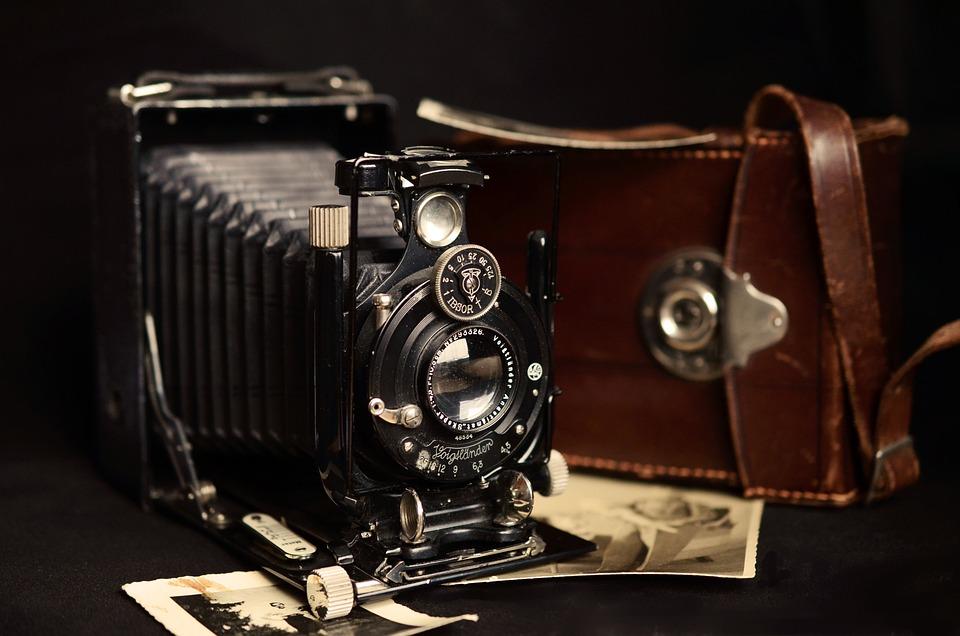 Fotoaparát, Starý, Starožitný, Voigtlander, Nostalgie